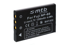 Akku NP-60 für Fuji Fujifilm Finepix F601, F601 zoom, M603 / NP60