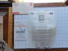 Nice 1927 Beekeeping Supplier Letterhead and Literature. Martinsburg, West Va