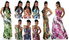 Polyester Party Long Regular Size Dresses for Women