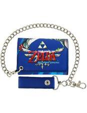 Nintendo Legend of Zelda Skyward Sword Wallet with Chain