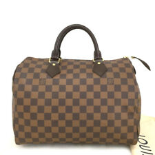 100% Authentic Louis Vuitton Damier Speedy 30 Boston Hand Bag /30224