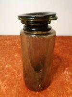 Design Vase en Verre avec Bulles Main Artisanat - Hauteur 23,5 cm - Pièce Unique