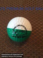 PING GOLF BALL-GREEN/WHITE PING EYE 4 #2.....9/10....WITH TRICK SHOT ARTIST LOGO