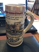 Vintage Stroh's Brewery Company Stein Beer Mug Heritage Series 2 - Ceramarte