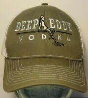 DEEP EDDY VODKA WOMAN OLDEST SWIMMING HOLE AUSTIN TEXAS SNAPBACK TRUCKER HAT CAP