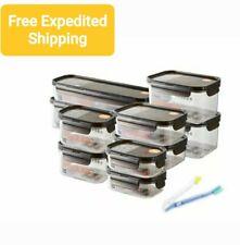 Lock&Lock BISFREE Modular Airtight Food Storage Pack of 10 - Free Expedited