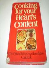 Cooking for Your Heart's Content: British Heart Foundation Cookbook,Katie Dyson