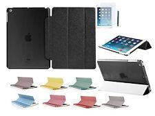 iPad Air 2 Schutz Hülle Bling Strass iPad 6 Smart Cover Case Tasche Etui Folie