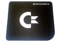 Commodore Maus Pad Schwarz Black Natural Rubber Mouse Pad C64 C16 Amiga (CO0018)