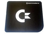 Commodore Maus Pad Schwarz Black Natural Rubber Mouse Pad C64 C16 Amiga (CO0018)