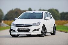 Rieger Spoilerlippe Spoiler Opel Astra H 5-türer RIEGER-Tuning
