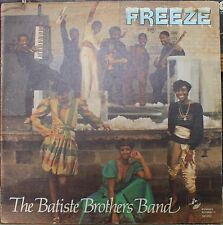 BATISTE BROTHERS BAND *FREEZE* 1982 Modern Soul LP on DYNASTY 181952 New Orleans