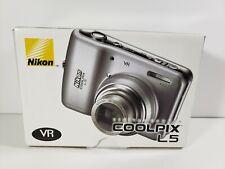 Nikon Coolpix LS,Vibration Reduction 7.2 Mega Pixel 5X Zoom Camera,W/ Box