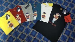 Polo Ralph Lauren Custom Slim Fit T-Shirt (Graphic Polo Bear)