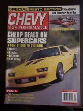 Chevy High Performance July 2001 Cheap Deals Supercars Malibu Camaro S-10 RR U