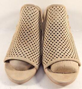 Stuart Weitzman Beach Suede Popular Slingback Sandals Womens Size US 8.5M