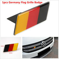 1pcs Aluminium Germany Flag Grilles Emblem Badge Decal Sticker For BMW Audi VW