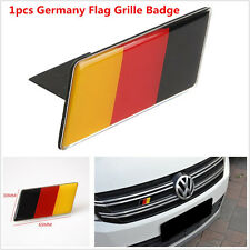 1pcs Aluminium Germany Flag Grilles Emblem Badge Decal Sticker For BMW
