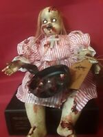 "Sinisterly Sissy's 'Zombi Mommy' Undead,Spooky,Creepy,Haunted,Zombi 15"" inch"