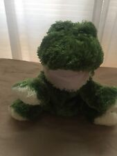 "World Market Plush Frog Hand Puppet 12"" Stuffed Animal"
