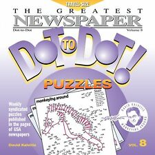 The Greatest Newspaper Dot-to-Dot Puzzles, Vol. 8