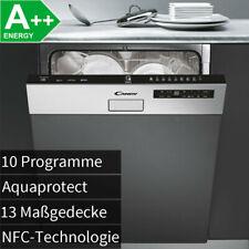 Candy A++ Einbau Geschirrspüler Edelstahl teilintegriert Geschirr Spülmaschine !