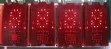 TIL311 Red Hexadecimal Display, set of 4,  socket pulls from new boards