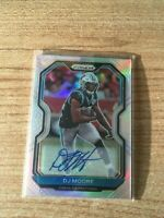 2020 Prizm Football D.J. Moore Silver Refractor Auto Carolina Panthers