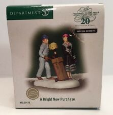 """Department 56  """"A Bright New Purchase"""" 59479 - The Heritage Village Collection"""