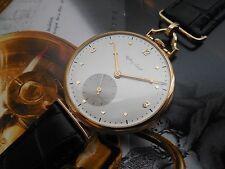 14K SOLID GOLD ANTIQUE SWISS MADE MATHEY TISSOT 17 JEWELS 42.50mm TOP GRADE