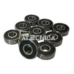10pz Rodamientos de Bolas 8x22x7mm 608 2RS Motores Eléctricos Skateboar