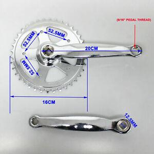 Metal Left Crank Arm Rhombus Square Hole MTB Mountain Bike Bicycle Crank KV