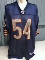 Brian Urlacher Hall of Famer Chicago Bears XXL Reebok Mesh Football Jersey GSH