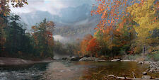 "Phillip Philbeck ""Fall in the Appalachians-Mount Mitchell"" S/N paper giclee"