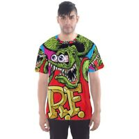 New Rat Fink Sublimated T-shirt Men's Sport Mesh Tee Size XS-5XL free shipping