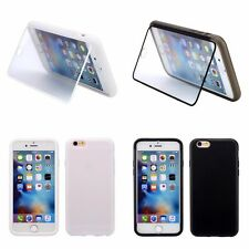 TPU Flip Gel Case Cover for Apple iPhone 6, 6S 4.7Inch - Strong & Hard Wearing