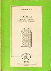 MACRAMé - STEFANO TUBINO - ECIG 1986