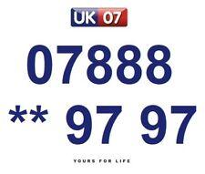 07888 ** 97 97 - Gold Easy Memorable Business Platinum VIP UK Mobile Numbers