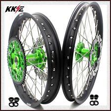KKE 21/19 Spoked MX Wheels Set For KAWASAKI KX125 KX250 1993-2002 Rotor 220mm