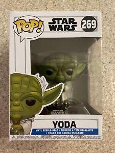 Funko Pop! Star Wars: CLONE WARS - YODA #269