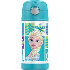 100% Genuine! THERMOS Funtainer 355ml Vacuum Insulated Beverage Bottle Frozen!
