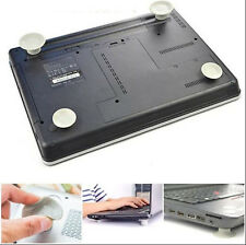 4 pcs Portable Laptop Notebook Cushion height Ventilated Stand Holders