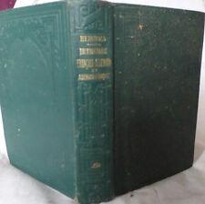 dictionnaire Francais Allemand publié en pleine guerre 1915 Hachette WWI