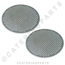 PAIR OF SAN MARCO 202072 METAL SHOWER PLATES 50.5mm COFFEE MACHINE LEVA POMPEI