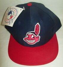 12 CLEVELAND INDIANS LOGO HAT GENUINE MERCHANDISE ONE SIZE FITTED ALL RARE
