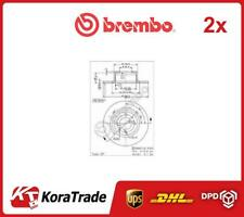 2x 08255924 BREMBO OE QUALITY BRAKE DISC SET