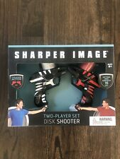 Sharper Image Two-Player Disk Shooter With Foam Disks Set