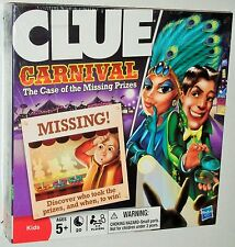 Hasbro ~ CLUE Carnival - The Case of the Missing Prizes Board Game
