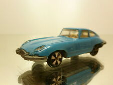 FALLER HIT-CAR JAGUAR E-TYPRE COUPE - BLEU L7.0cm RARE - VERY GOOD CONDITION