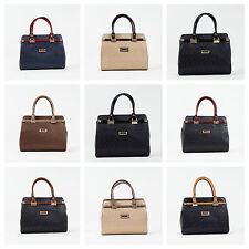 Damentaschen aus Kunstleder mit Reißverschluss